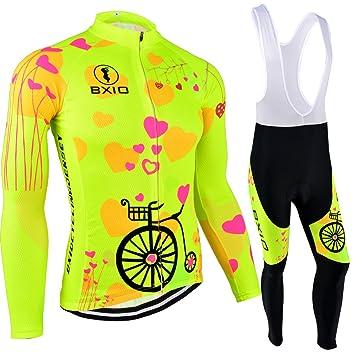 Amazon.com: BXIO Women Cycling Sets Bicycle Short Sleeve ...