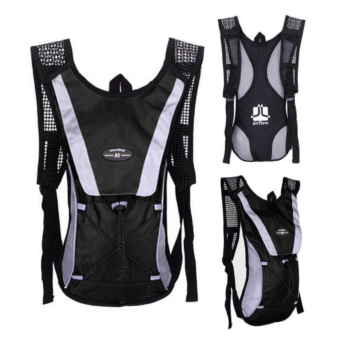 Susenstone/® Water Bladder Bag Backpack Black Hydration Packs Camelbak Hiking Camping 2L
