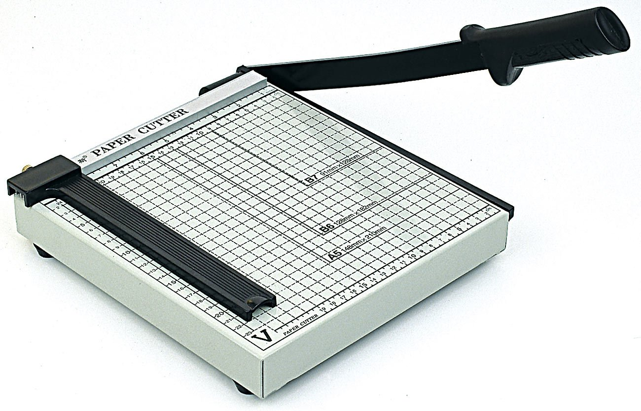 General Office Taglierina Compatta Cutter Per 15 Fogli Con Luce Taglio 23 Cm