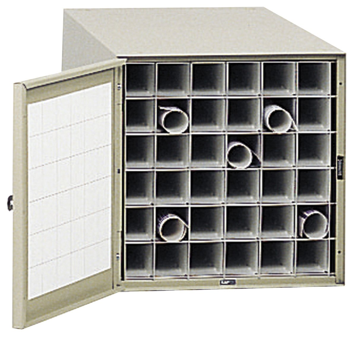 Amazon safco products 4962 steel roll file horizontal storage amazon safco products 4962 steel roll file horizontal storage cabinet 36 tube tropic sand kitchen dining malvernweather Gallery