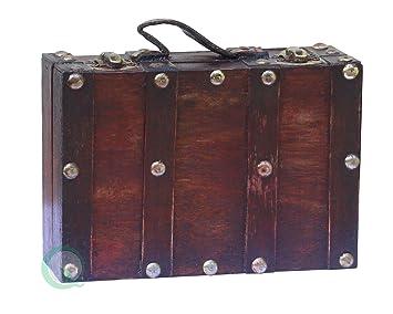 vintiquewisetm antique style suitcasedecorative box smallmini - Decorative Box
