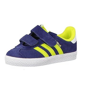 new style 545e9 a6b71 adidas Gazelle 2 CF I, Chaussures Premiers Pas Mixte Enfant - Multicolore -  Conavy