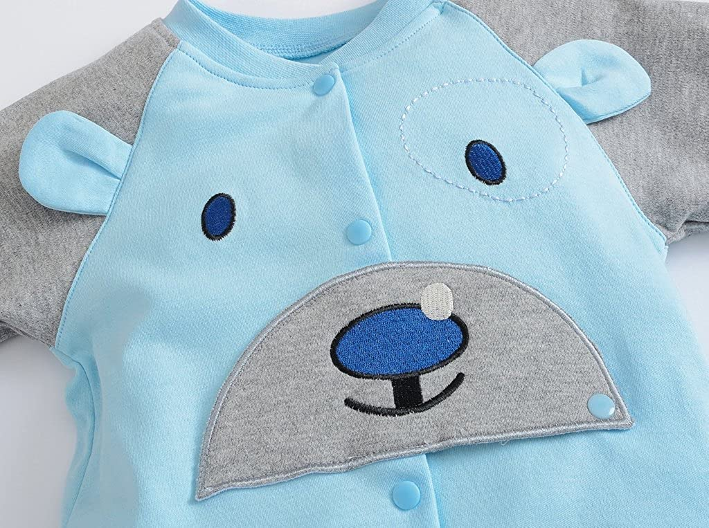 ZOJJQ Baby Clothing Bear Design for 0 to 18 months Season Spring and Fall