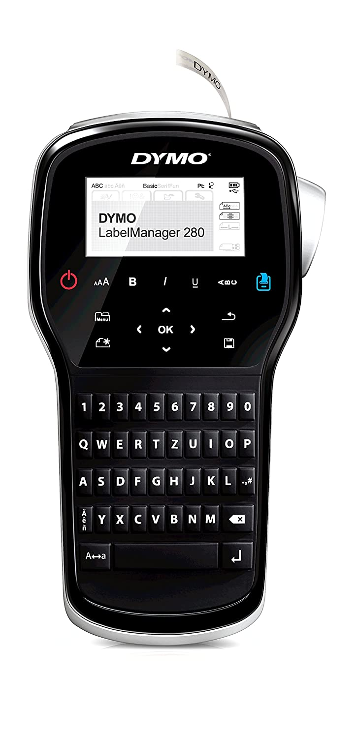 Dymo LM 280 English Layout, Handheld use Label Maker S0968970