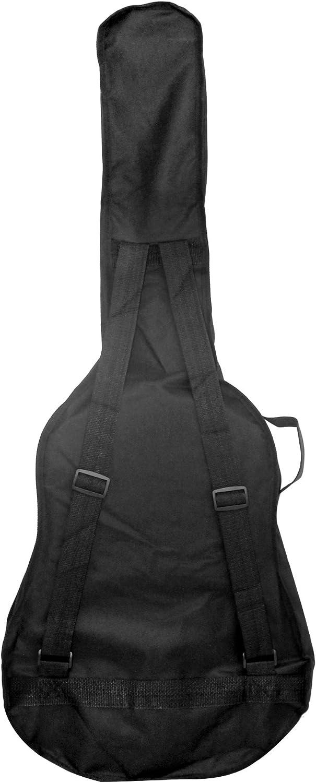 Tamaño Rockjam acústica eléctrica llena Bolsa Bolsa Guitarra ...