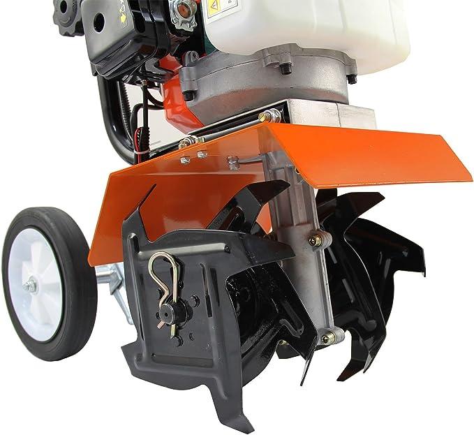 Amazon.com: fengke 52 cc jardín Mini Tiller CV gasolina ...