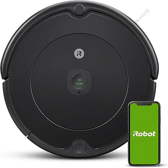 iRobot - Robot aspirador Roomba 692 Wifi, para alfombras y suelos, Dirt Detect, Sistema de limpieza en 3 fases, Smart Home y control App, Sugerencias personalizadas, Compatible con asistentes voz: Amazon.es: Hogar
