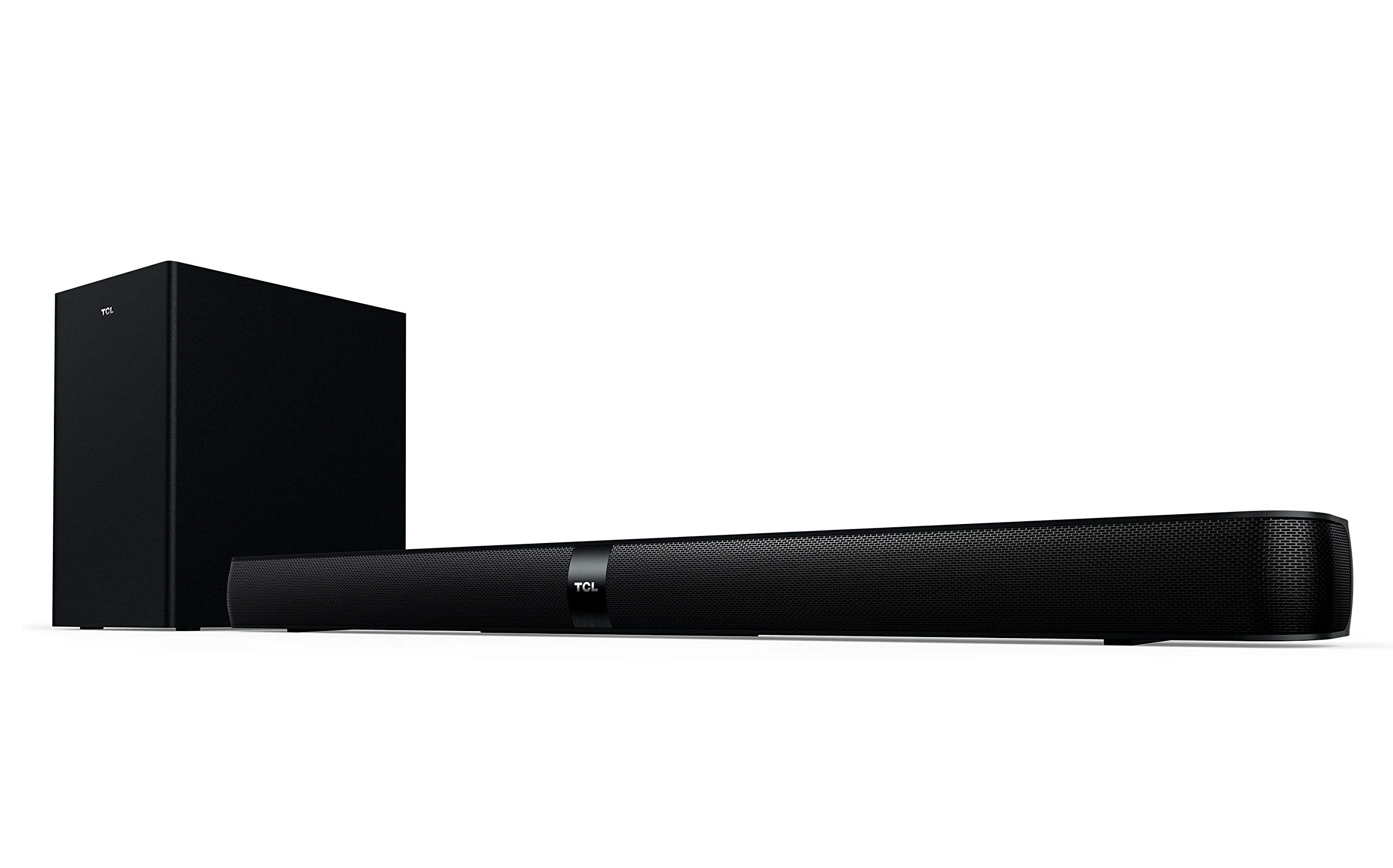 TCL Alto 7+ 2.1 Channel Home Theater Sound Bar with Wireless Subwoofer - TS7010, 36'', Black