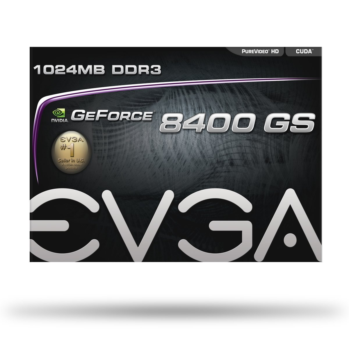EVGA 1GB GeForce 8400 GS DirectX 10 64-Bit DDR3 PCI Express 2.0 x16 HDCP Ready Video Card Model 01G-P3-1302-LR by EVGA