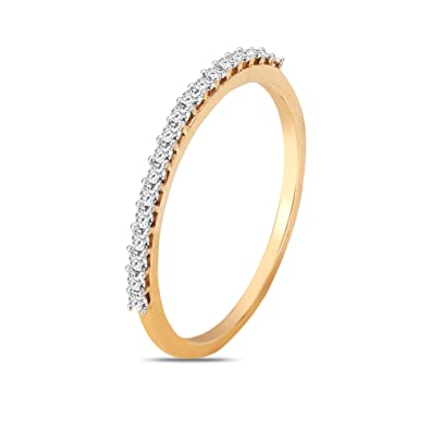 Buy Mia By Tanishq 14kt Two Colour Gold Diamond And Pearl Ring For Women At Amazon In,Singleton Design Pattern C