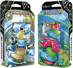 Pokemon V Battle Decks Blastoise V and Venusaur V