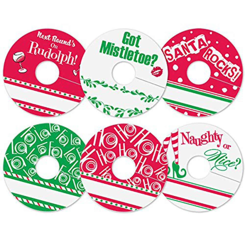 24 Pack with 6 Different Holiday Designs