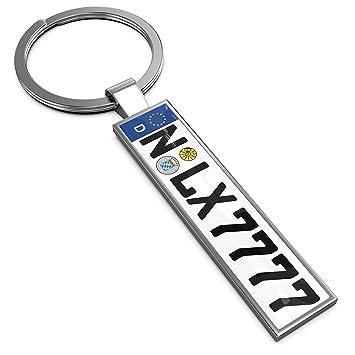 Lextrady Schlusselanhanger In Premium Qualitat Mit Kfz Kennzeichen