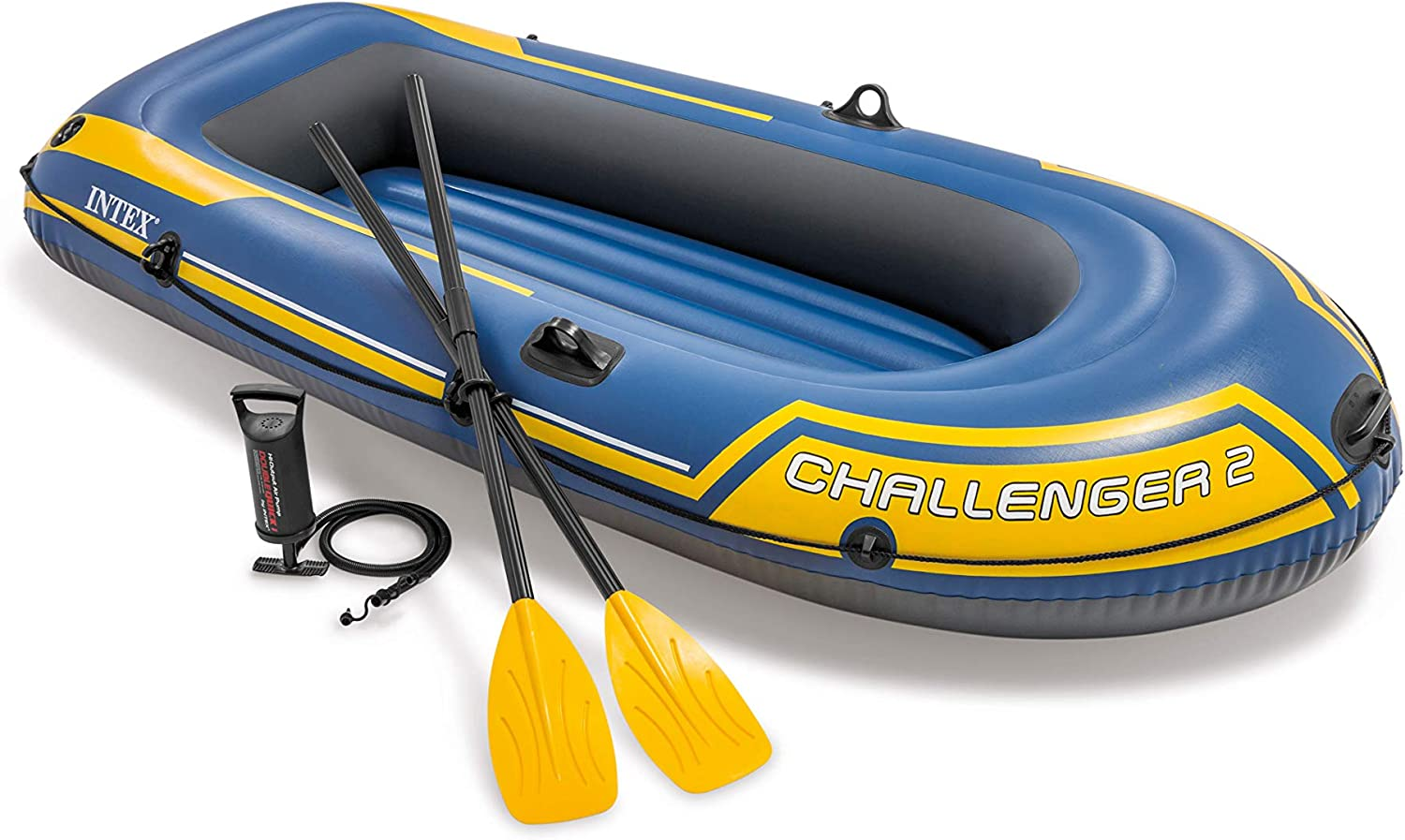 Amazon.com : Intex Challenger 2, 2-Person Inflatable Boat Set with