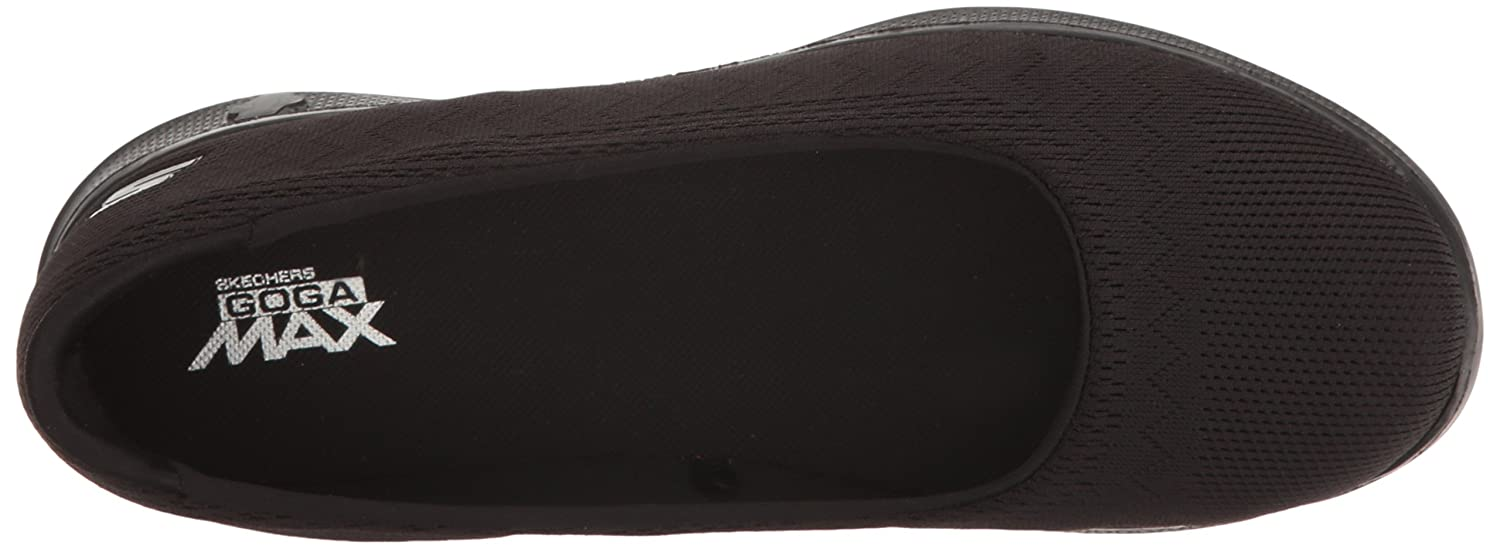 Skechers 14476/TPE Go Step Lite-Solace Damen Slipper Ballerinas Taupe Black