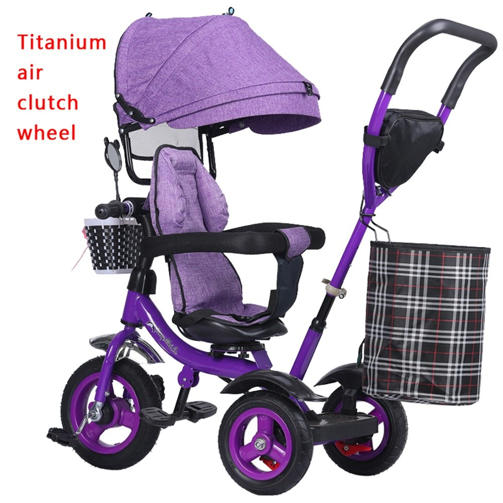 自転車、子供の三輪車、赤ちゃんの女の子のベビーカー、軽いトロリー、子供の自転車 (色 : # 1) B07CZ8VV7K # 1 # 1