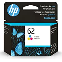 Original HP 62 Tri-color Ink Cartridge   Works with HP ENVY 5540, 5640, 5660, 7640 Series,… photo