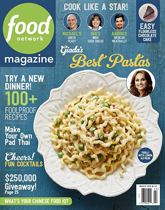 Top 5 Food Magazine Subscriptions