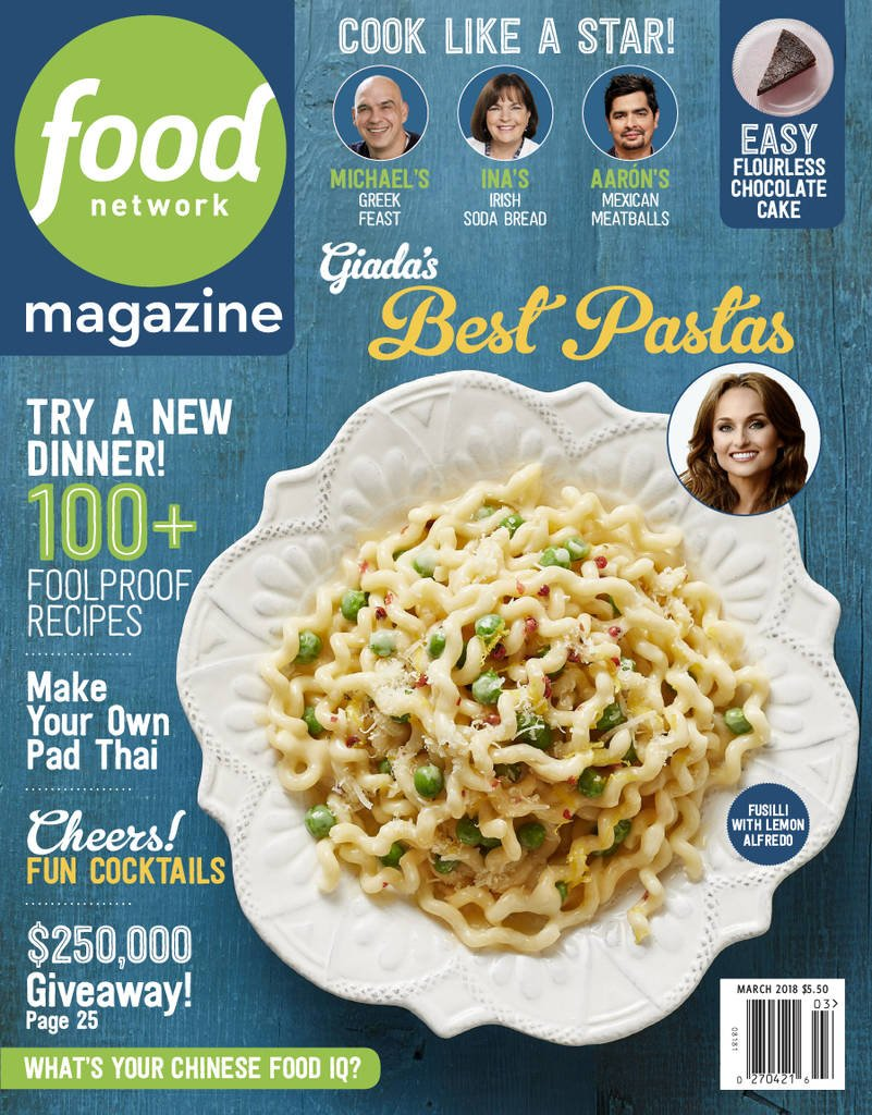 Food Network Magazine Print Magazine
