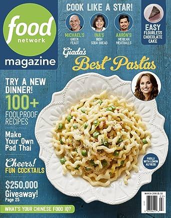 Food Network Magazine Amazon Magazines