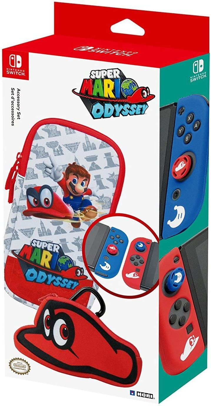Starter Kit Mario Odyssey (Nintendo Switch): Amazon.es: Videojuegos