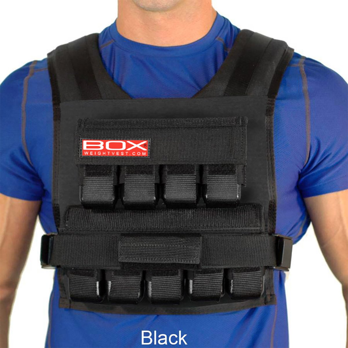 Box 45 Lb Weightvest (Black)