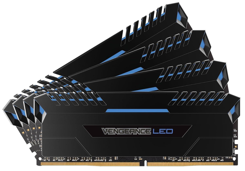 【高価値】 CORSAIR Vengeance Blue LED DDR4 3200Mhz 64GB (16GBx4) LED 288pin 64GB UDIMM UDIMM MM3203 CMU64GX4M4C3200C16B B01LXJDEOA, 名入れ記念品プレゼントのビブレス:028e9d10 --- martinemoeykens.com