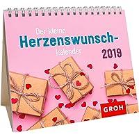 Der kleine Herzenswunschkalender 2019: MiniMonatskalender