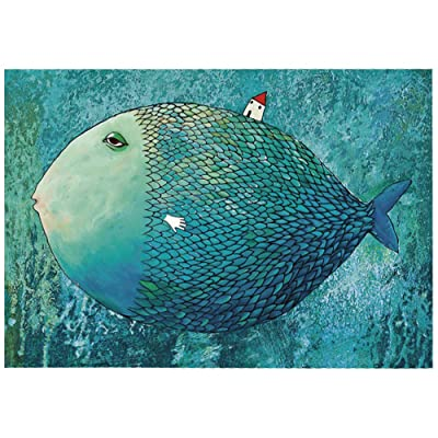 Jigsaw Puzzles 1000 Pieces for Adults Fish Image Educational Fun Game Intellectual Decompressing Interesting Puzzle: Toys & Games