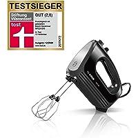 Bosch Handmixer CleverMixx MFQ2420B, 2 roerbezem, 2 roestvrijstalen kneedhaken, vaatwasmachinebestendig, 4 standen…