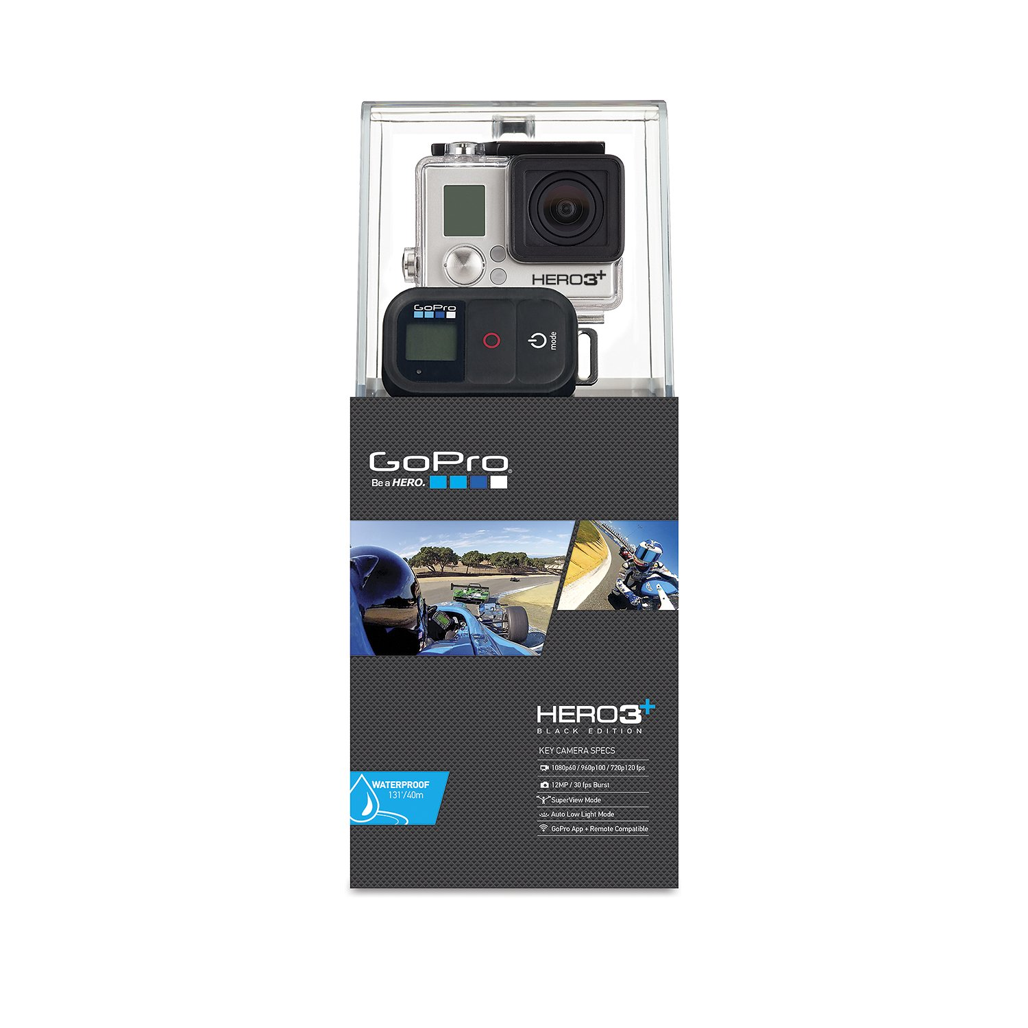Amazon.com  GoPro HERO3+ Black Motorsports Edition Camera (CHDMX-302)  Sports And Action Video Cameras  Camera u0026 Photo  sc 1 st  Amazon.com : gopro hero 3 silver low light - azcodes.com