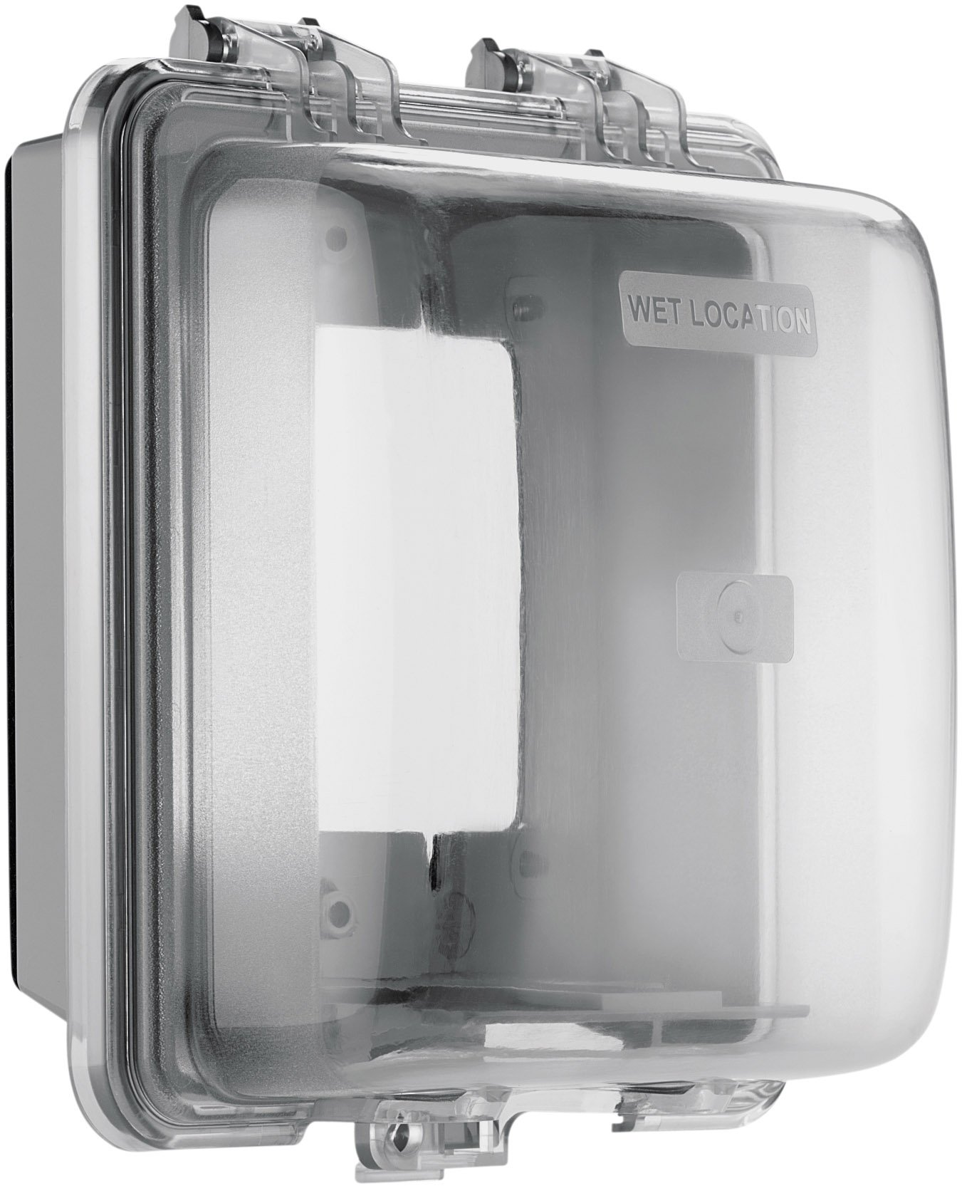 Eaton WIU-2 Weather Box Horizontal/ Vertical Mount While-In-Use Weather Protective Cover, Gray