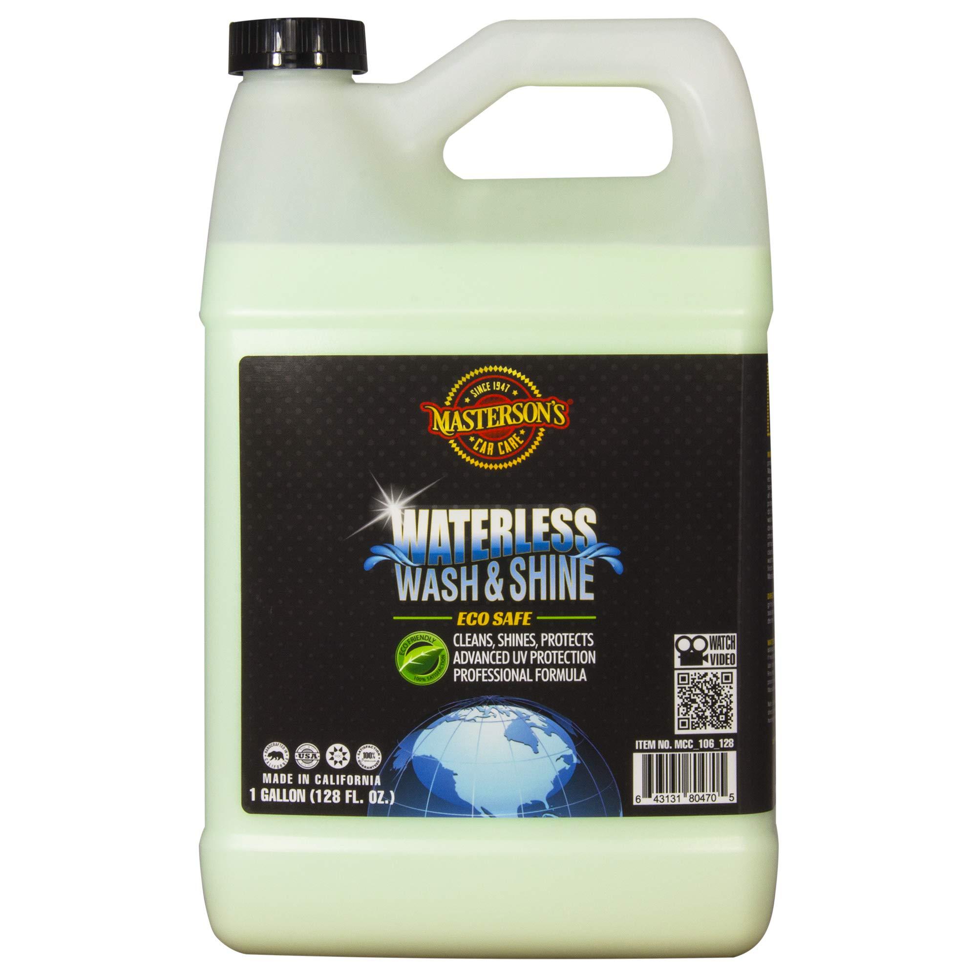 Masterson's Car Care MCC_106_128 Waterless Wash & Shine (1 Gallon)