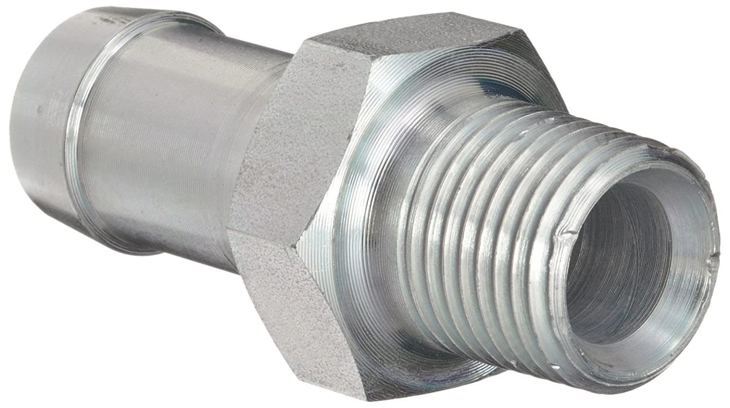 Dixon KHN321 King Plated Steel Shank//Water Fitting for One Clamp Hex Nipple 1//4 NPT Male x 3//8 Hose ID Barbed 1//4 NPT Male x 3//8 Hose ID Barbed Dixon Valve /& Coupling