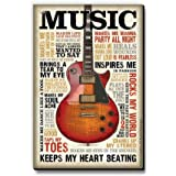 bCreative Music Inspires Me (Officially Licensed) Fridge Magnet