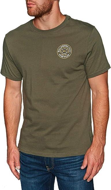 BILLABONG - Camiseta - para Hombre Verde Verde Oliva Oscuro Small: Amazon.es: Ropa y accesorios