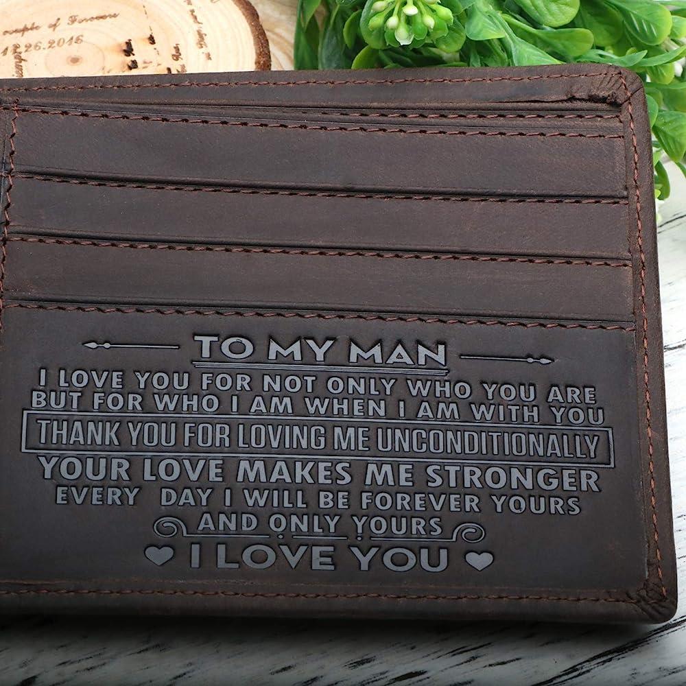 Amazon.com: Cartera para hombre – Cartera de piel ...