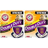 Arm & Hammer Double Duty Litter, 40 Lbs (Packaging May Vary) (2 pack)