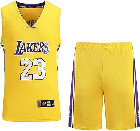 Lebron James #23 Camiseta de Baloncesto para Hombres - Nuevo Tela ...