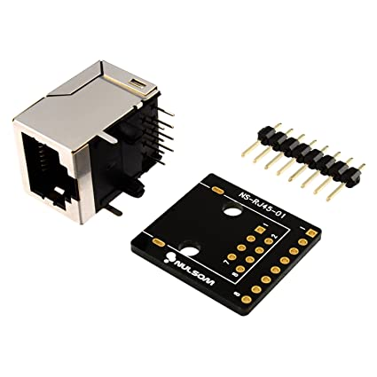 Peachy Amazon Com Rj45 8 Pin Connector 8P8C And Breakout Board Kit For Wiring Digital Resources Ntnesshebarightsorg
