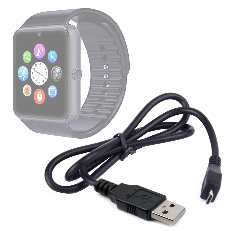 DURAGADGET Cargador (1 Amperio) para Smartwatch Mobiper G08 ...
