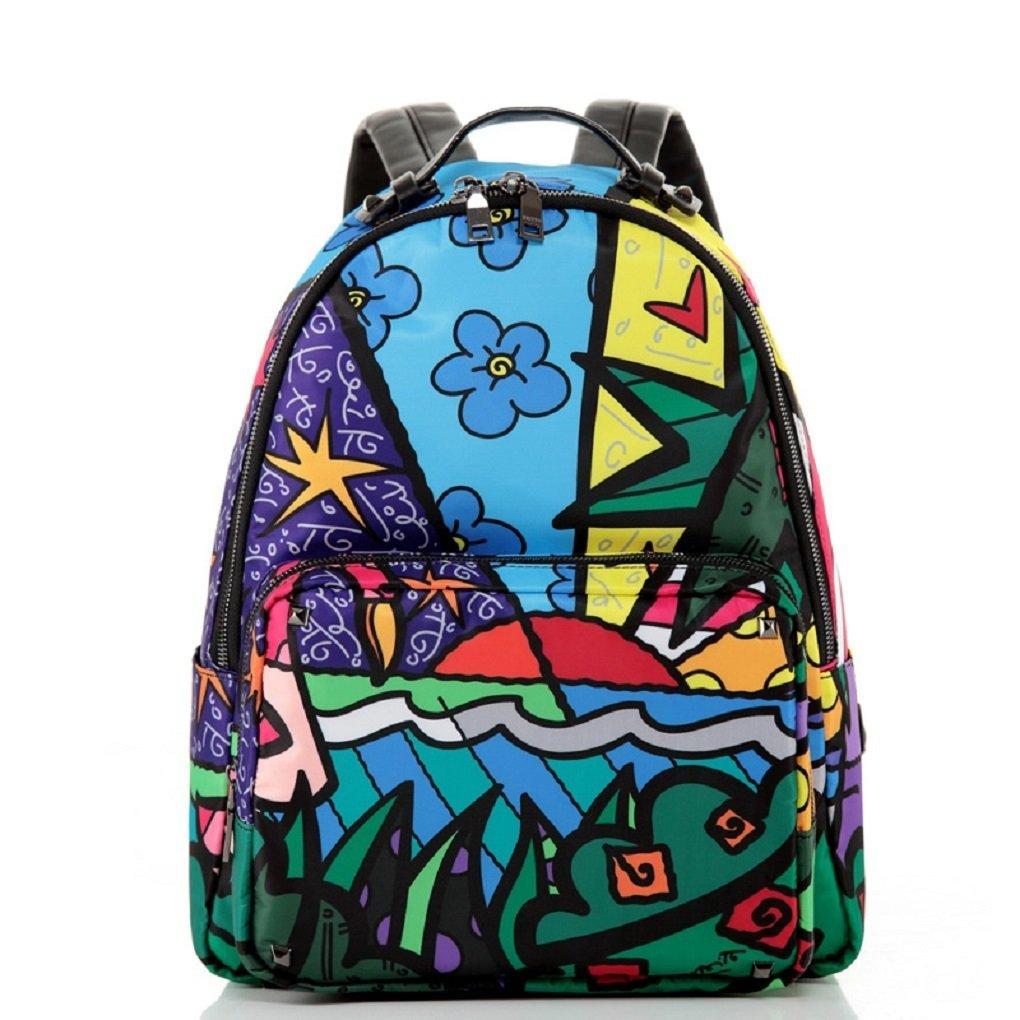 Die neue Outdoor-Reise Rucksack Umh?ngetasche Frauen l?ssig Reisetasche Korean Institute of Wind Gezeiten Schulranzen M?nner