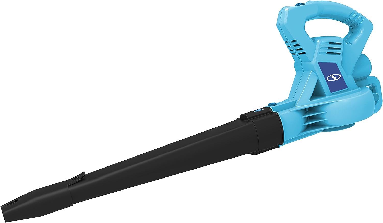 Sun Joe SBJ601E-BLU-RM 10 Amp 215 Max MPH All-Purpose 2-Speed Electric Blower, Blue
