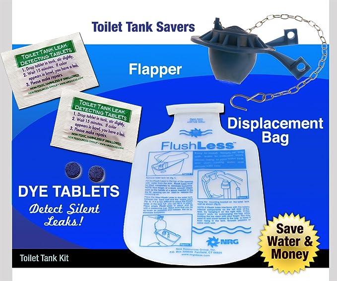 Kit básico para inodoro de repuesto Flush Flapper tinte ...