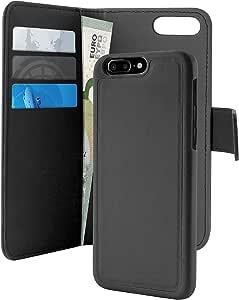 Puro Case For Apple Iphone 7 Plus And 8 Plus, Black- Ipc755Bookc3Blk