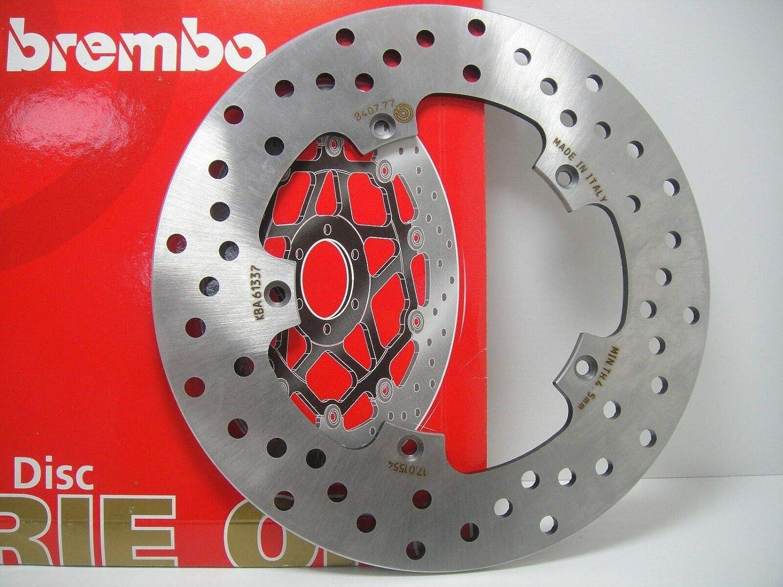 DISCO FRENO POSTERIORE BREMBO SR MAX 125 2010  SCARABEO 250 2004  2009 SCARABEO LIGHT 300 2006  2010 SR MAX 300 2010  SCARABEO 400 2006  SCARABEO ie 500 2006