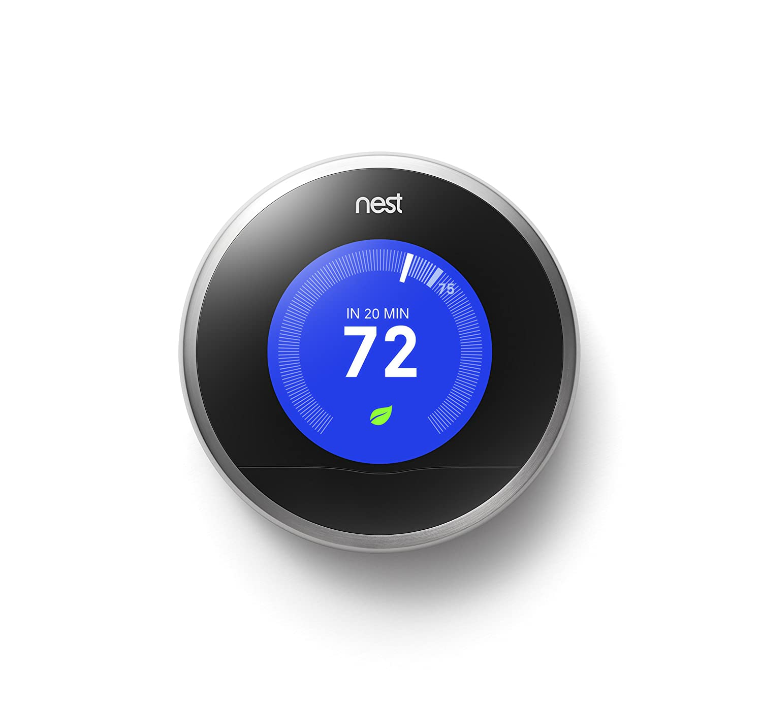 Nest Learning Thermostat 2nd Generation Works With Alexa Wiring Issues Programmable Household Thermostats