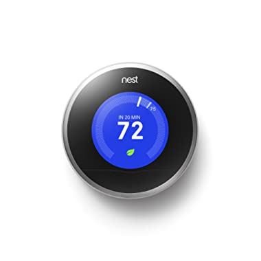 Nest Learning Thermostat, 2nd Generation, Works with Alexa