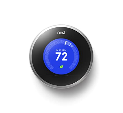 Nest Learning Thermostat 2nd Generation T200577 Amazon De