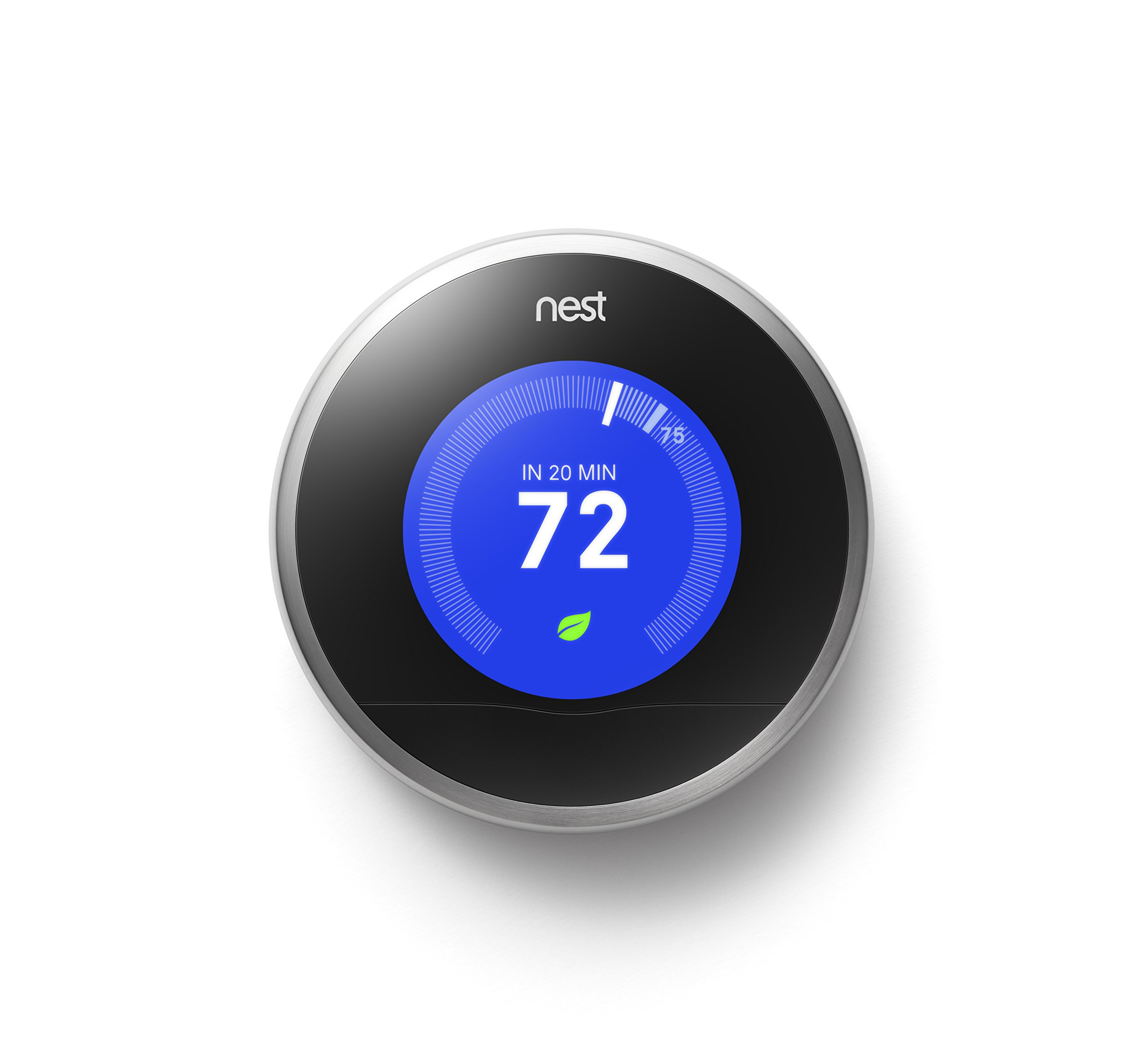 Nest Learning Thermostat, 2nd Generation, Works with Amazon Alexa